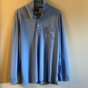 Greg Norman Long Sleeve Golf Shirt